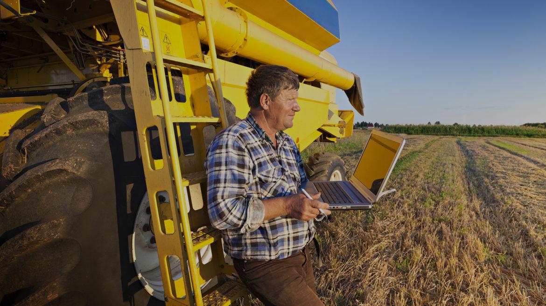 Farmer calculates earnings